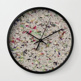 Letter Stars Wall Clock