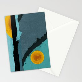 Turquoise Twelve Stationery Cards