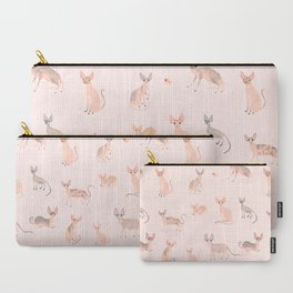 Sphynx Cats Carry-All Pouch