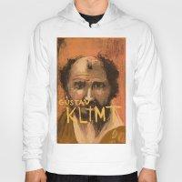 klimt Hoodies featuring 50 Artists: Gustav Klimt by Chad Beroth
