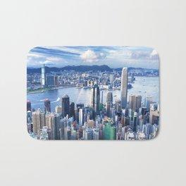 Hong Kong-Buildings Bath Mat