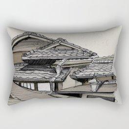Vintage Gion Rectangular Pillow