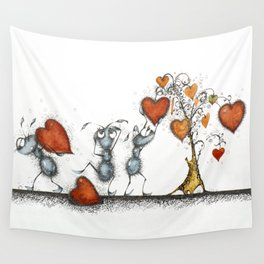 Slaves of love Wall Tapestry