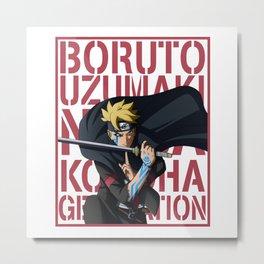 Boruto logo Metal Print
