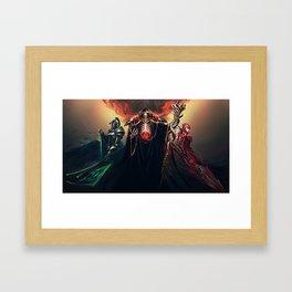 The Sorcerer King - Overlord Framed Art Print