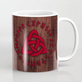 Celtic Knot Runes Viking Symbol  Coffee Mug