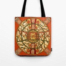 Vintage Celestial Chart 1900 Tote Bag