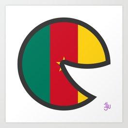 Cameroon Smile Art Print