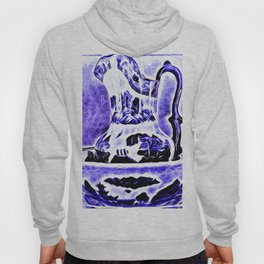 Water Bowl And Pitcher Still Life Hoody