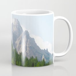 Forest Pines and Mountain Spikes Coffee Mug