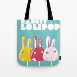 Rabbit Lolipop Tote Bag