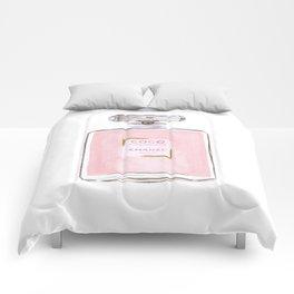 Pink Perfume Comforters