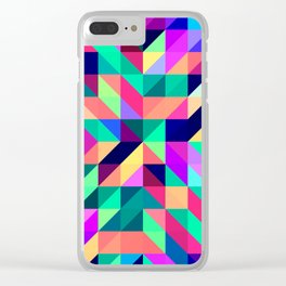 Untitled Pattern 4 Clear iPhone Case