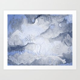 Nature Wash Art Print