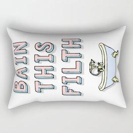 bain this filth Rectangular Pillow