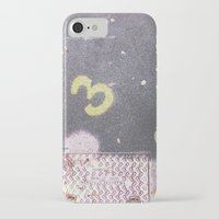 numbers iPhone & iPod Cases featuring Numbers by Giulia Torra