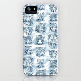 Kickass Kitties - snow iPhone Case
