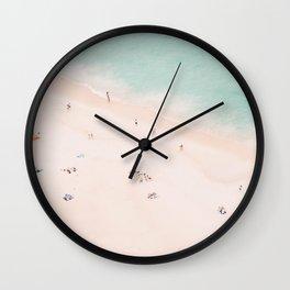 Beach Summer Bliss Wall Clock