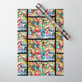 Nintendo Tribute Wrapping Paper