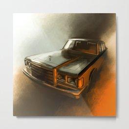 ZIL 41047 Metal Print
