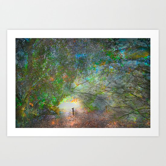 The Light at the End of the Tunnel Art Print