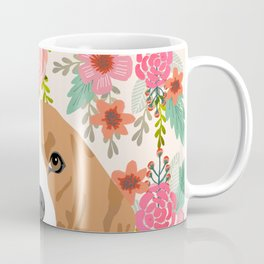 Beagle florals cute spring pet portrait dog lover gift idea beagle owners must haves flower power Coffee Mug