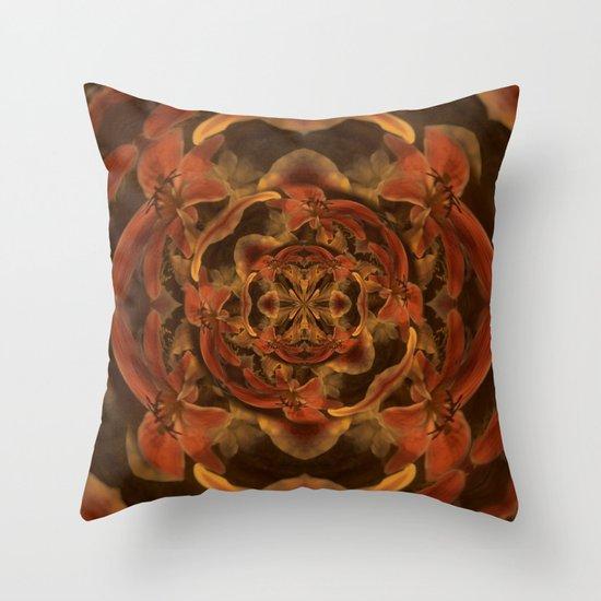 Composición floral Throw Pillow