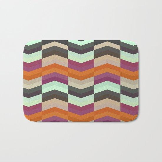ZigZag Pattern Bath Mat