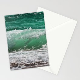 Sea Water Waves Stationery Cards