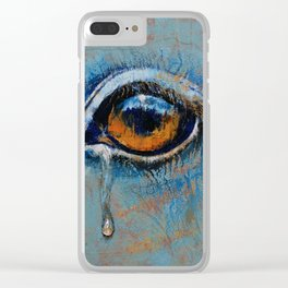 Horse Eye Clear iPhone Case