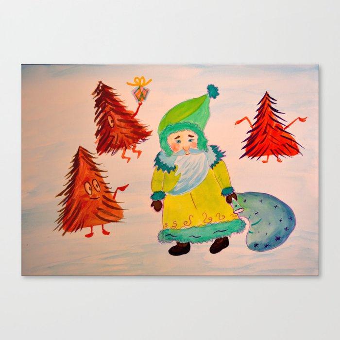 Santa Leinwanddruck