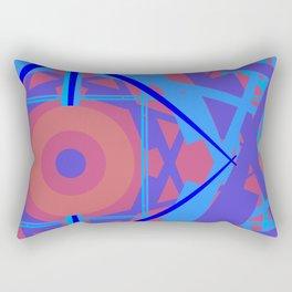 GEOMETRY 3 BY GLOJAG Rectangular Pillow