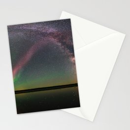 Milky Way and Steve Stationery Cards