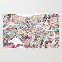 New Orleans map landscape Rug
