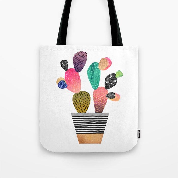 Happy Cactus Tote Bag