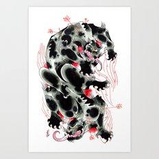 Panther Amoeba Art Print