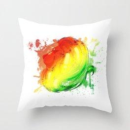 Irie Lion Slpash Throw Pillow