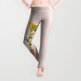 Excuse me while I hold my lilies Leggings