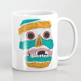 Stripy Skull  Coffee Mug