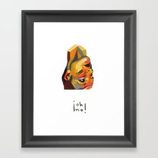 Rubik #2 Framed Art Print