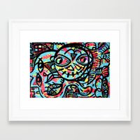 cheshire Framed Art Prints featuring Cheshire by Lisa Brown Gallery