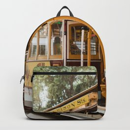 San Francisco Cable Car Backpack