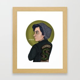 Riverdale: Jughead Jones Framed Art Print
