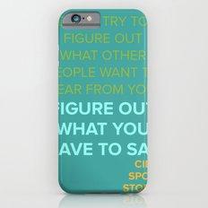 CIDER SPOON  Slim Case iPhone 6s