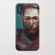 Man of the North iPhone X Slim Case