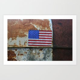 Rusted Glory Art Print