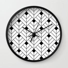 Art Deco III Wall Clock