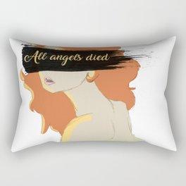 All Angels Died Rectangular Pillow