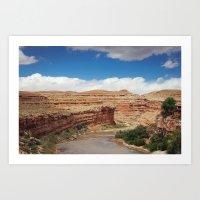 Water in the Desert Art Print