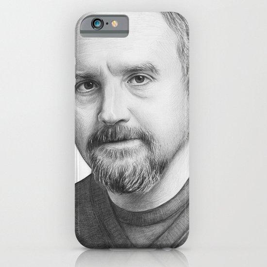 Louis CK Portrait iPhone & iPod Case